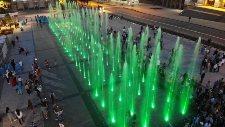 Мэрия Уфы сообщила о режиме работы фонтана на Советской площади