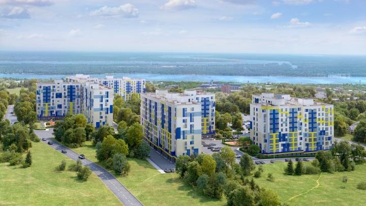 Волгоградцы смогут купить квартиры в новом жилом комплексе «Видный» даже без первоначального взноса