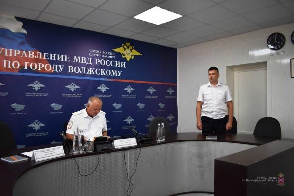 Александр Бересеменко стал новым руководителем волжской полиции