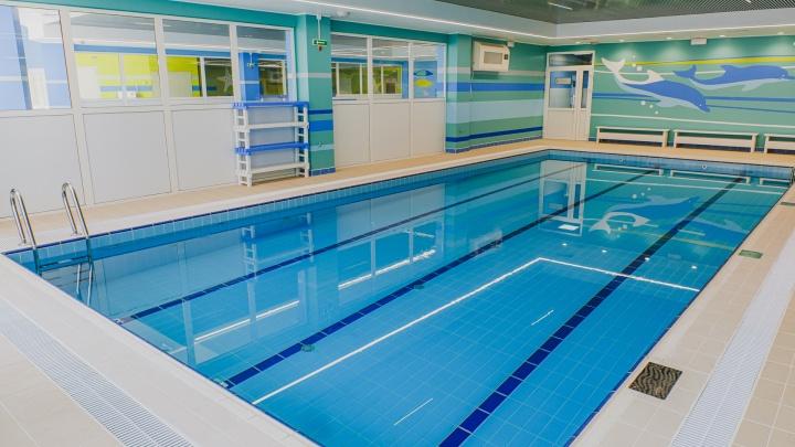 В Перми открыли новый корпус «Олимпии»: в нем есть три бассейна, большой фитнес-центр и сауна. Фото