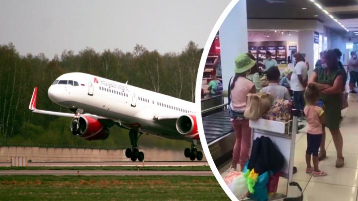 Самолет из Турции в Екатеринбург развернули в небе