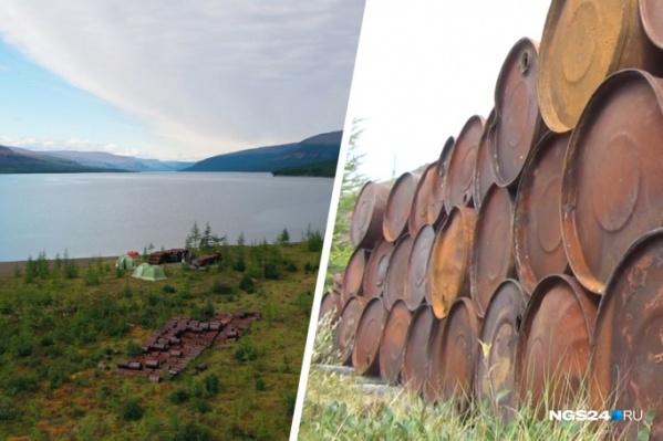 Советские бочки могут дать течь и нанести вред экологии заповедной территории
