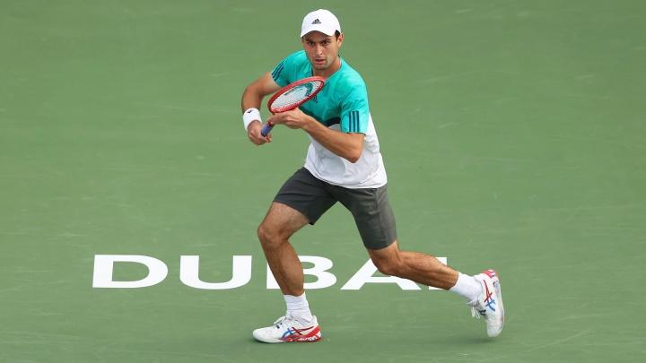 Таганрожец победил теннисиста из топ-10 и стал финалистом турнира в Дубае