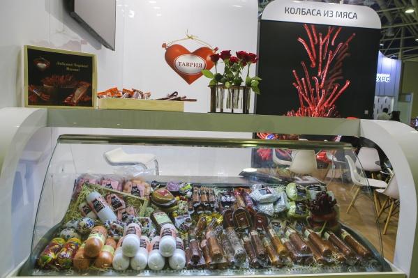 На главной продовольственной выставке России и Восточной Европы «ПродЭкспо» «Таврия» угощала качественными, натуральными и сытными продуктами