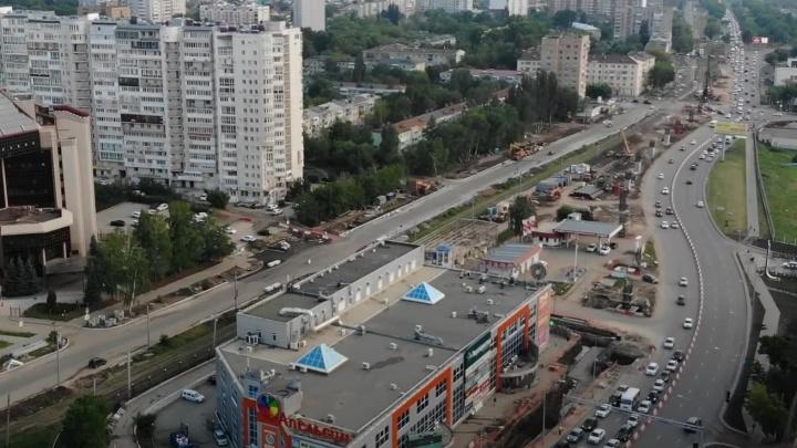 Инфографика: как изменят схему движения на Ново-Садовой с 26 июня
