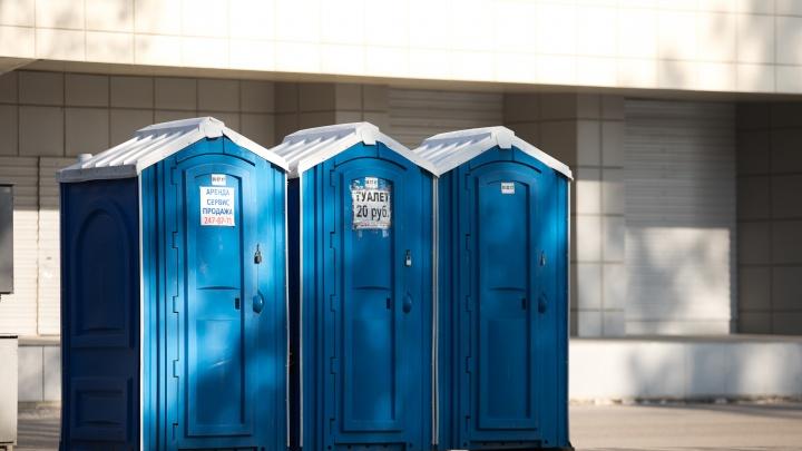 Власти Ростова назвали адреса, где появятся новые уличные туалеты «бизнес-класса»
