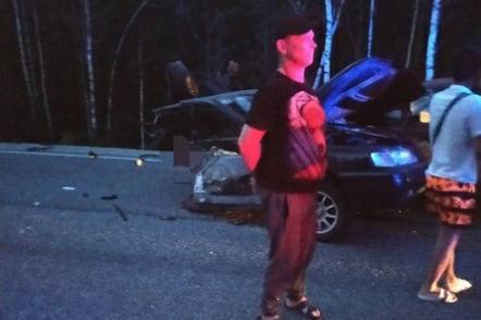 «У ВАЗа оторвало заднюю часть»: после ночной аварии на трассе М-5 один человек погиб, трое в больнице