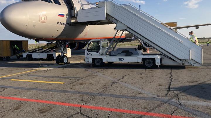 Непогода в Москве задержала два рейса до Волгограда