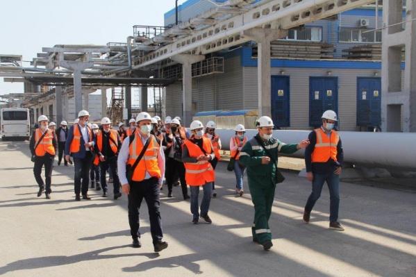 Участникам конференции показали особенности производства карбамида