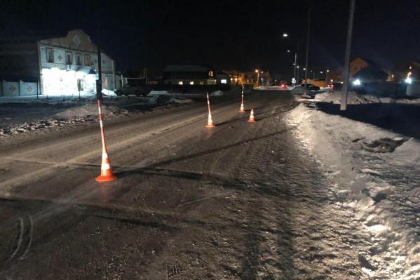 Правоохранители разыскали уехавшего с места аварии водителя
