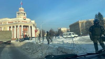 В Кемерово задержали четырех участников несанкционированного митинга в поддержку Алексея Навального