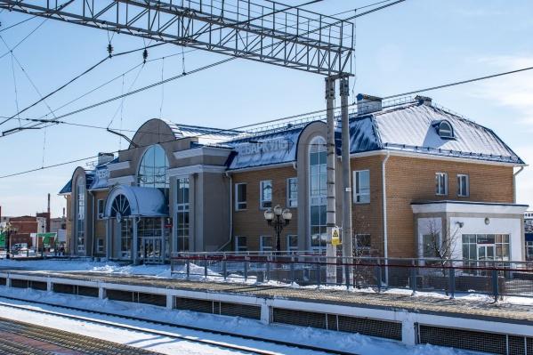 ЧП произошло на железнодорожной станции Чебаркуль
