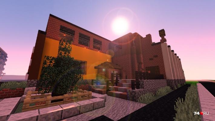 Школьники старались воспроизвести город с максимальной реалистичностью, на которую способен Minecraft