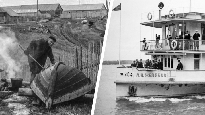 Старинные пароходы, лодки и лесозаготовка: как выглядел Верхнетоемский район в конце 1950-х