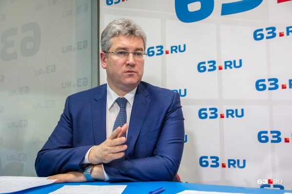 Виктор Кудряшов занимает должность председателя правительства области