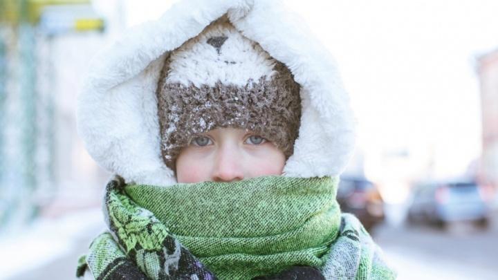 Дети в школу не идут: младшеклассникам Тюмени отменили занятия из-за морозов