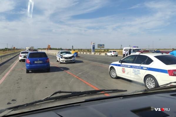 Авария произошла на ремонтируемом участке трассы Москва — Волгоград