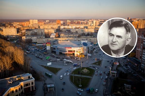В ближайшее время на картах города безымянный участок в Дзержинском районе будет назван площадью авиаконструктора Олега Антонова