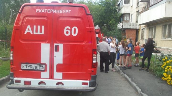 Умер мужчина, обгоревший во время пожара со взрывом на Уралмаше