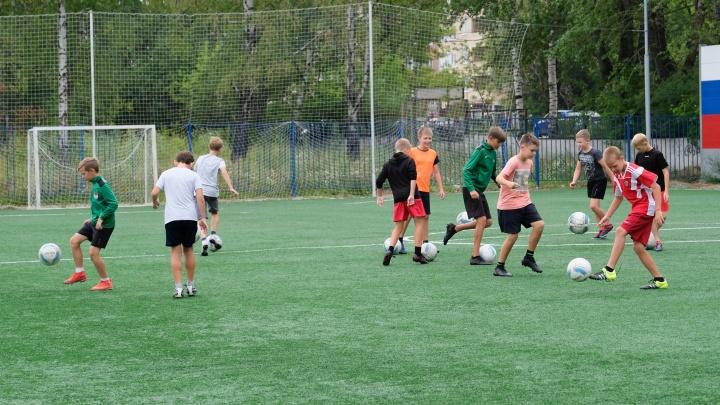 На стадионе «Авангард» в Перми завершились работы по благоустройству