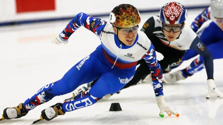 Конькобежец Семён Елистратов победил на чемпионате Европы