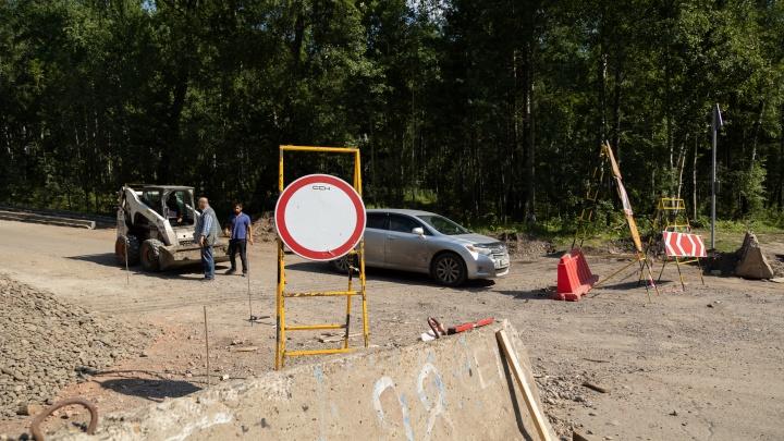 Открытие проезда на Николаевскую сопку передвинули на неделю — до 5 сентября
