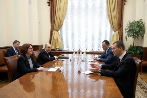 Председатель Центробанка Эльвира Набиуллина сообщила, что Хабаровск оставят на банкнотах до 2035 года