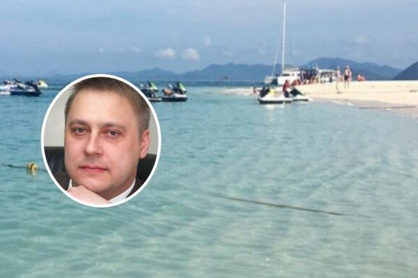 Андрей Туев находился на Кипре несколько лет
