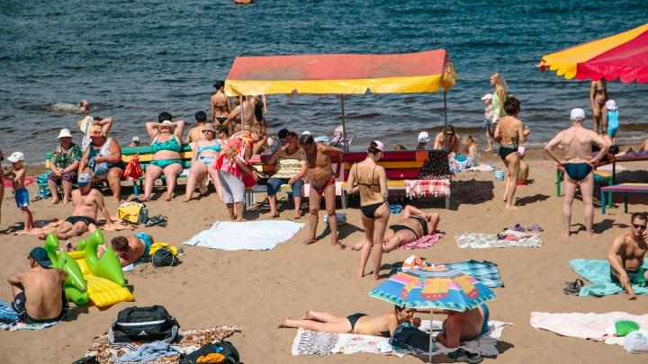 На пляжах Самары будут действовать 11 запретов: список