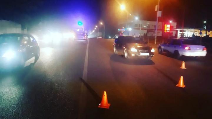 В Уфе молодой водитель насмерть сбил 56-летнего мужчину