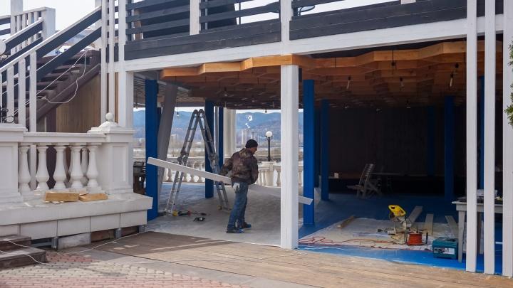 В четырех знаковых местах отдыха Красноярска построят по ресторану
