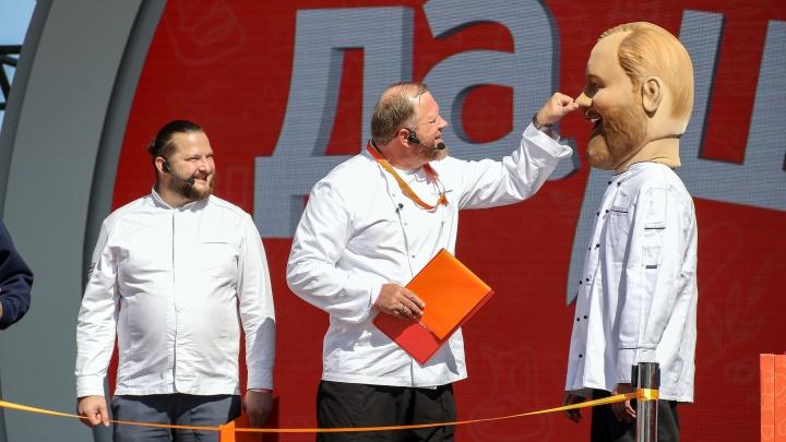 Шеф Костантин Ивлев приехал в Нижний Новгород, чтобы провести гастрономический фестиваль. Фоторепортаж Натальи Бурухиной