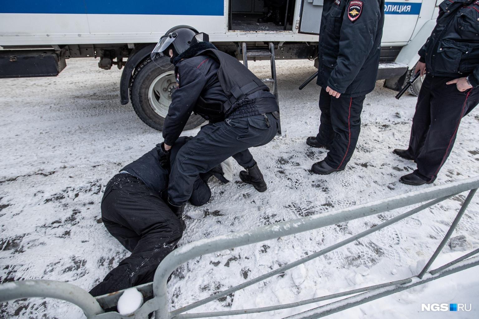 В этот день были задержаны как минимум 90 новосибирцев