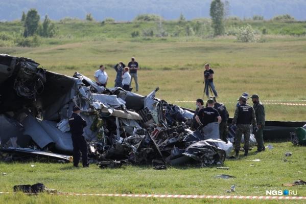 Крушение самолета произошло 19 июня