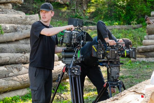 В Прикамье активно снимают кино и клипы