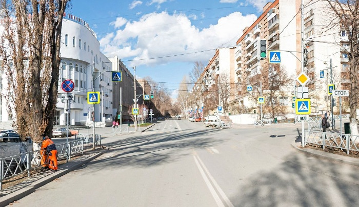 В Самаре перекроют для проезда улицу Молодогвардейскую