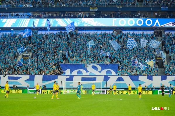 Предыдущий матч «Ростов» в Санкт-Петербурге завершился со счетом 1:6