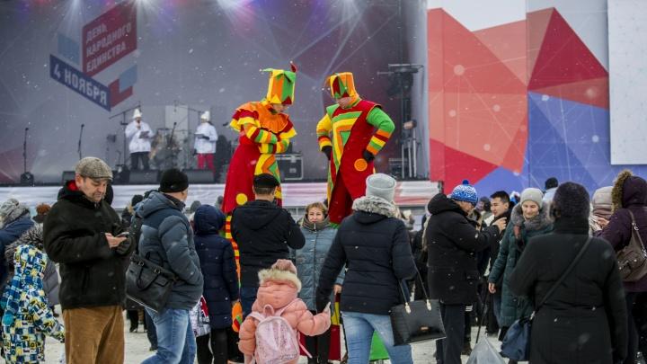 В Новосибирской области решили отметить с концертом День народного единства