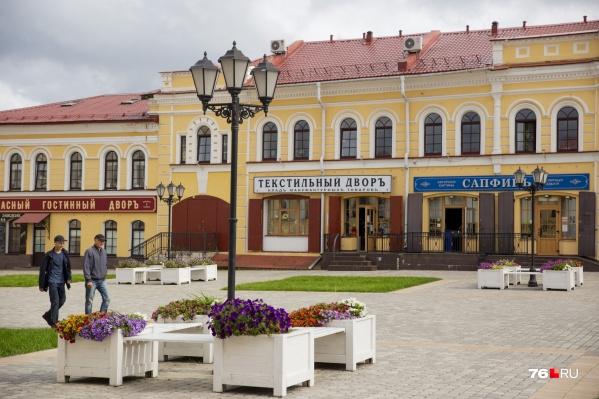 Ярославцы завидуют Рыбинску и его ухоженному центру