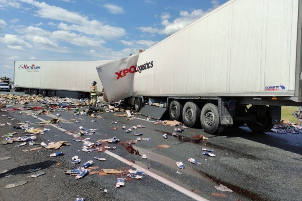 Авария произошла на федеральной трассе Челябинск — Новосибирск