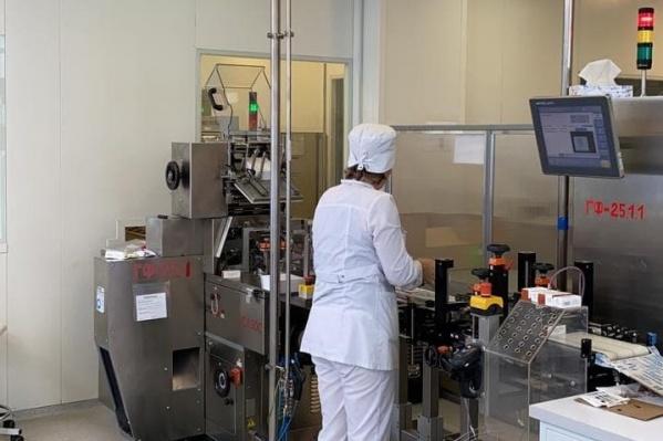 Благодаря внедрению технологий бережливого производства выпуск препарата удалось увеличить почти на 30%