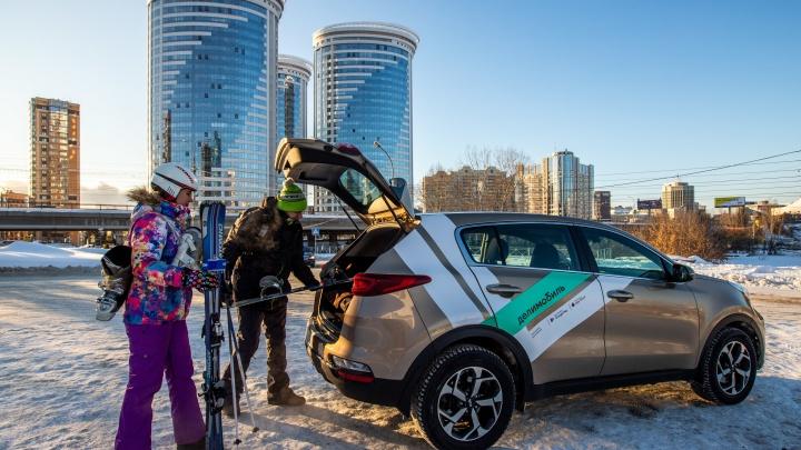 В Сибири самая большая доступная зона для делимобиля: 13карточек, как пользоваться каршерингом