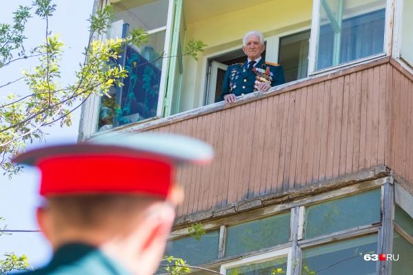 9 Мая самарцы смогут почтить память ветеранов на дому, разместив портреты на окнах или балконах