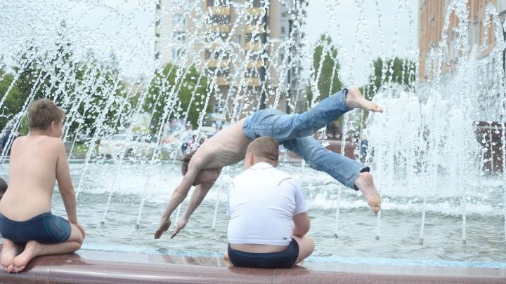 По области до +36 градусов: в Новосибирск пришла жара с грозами (но скоро опять похолодает)