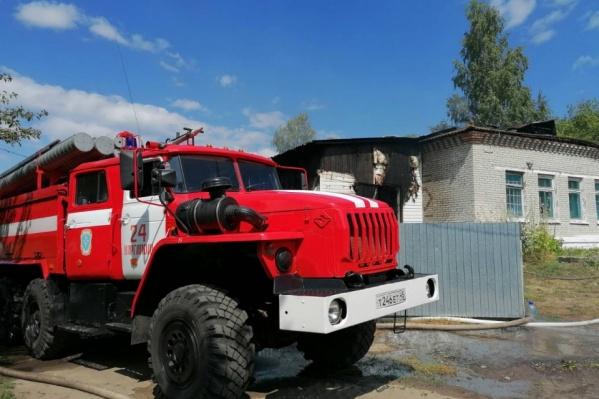 МЧС проверяет детские лагеря и школы Зауралья на предмет пожарной безопасности