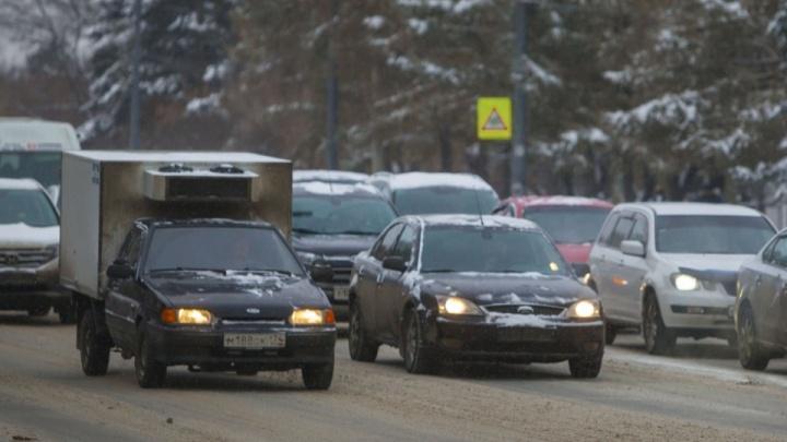 В Курганской области водителей просят отказаться от дальних поездок из-за морозов