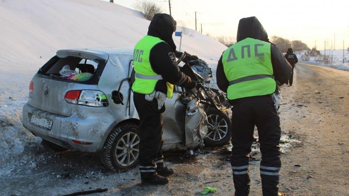 На Урале пьяный водитель устроил ДТП, вкотором пострадали ребенок идвое взрослых