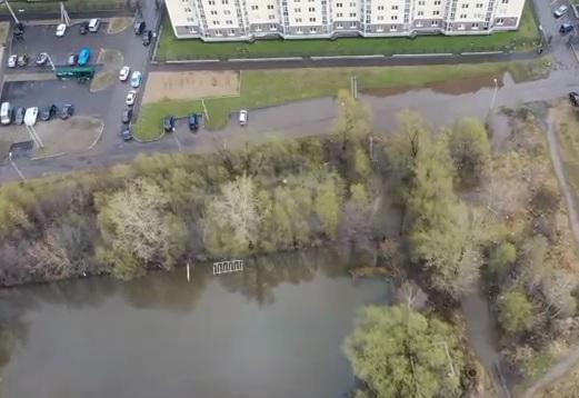 «Неуклюжая попытка победить природу»: в Ярославле ушел подводу целый район. Аэросъемка