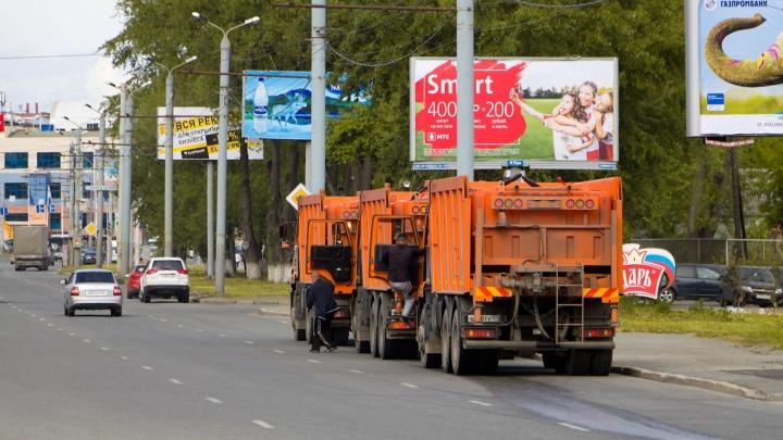 В Архангельске станет меньше уличных рекламных билбордов