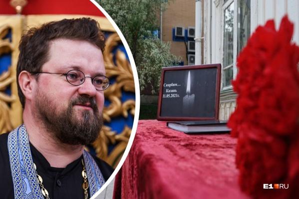По мнению отца Илии, родители все время будут помнить о трагедии в Казани, отправляя ребенка в школу